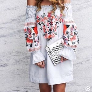 New Free People off the shoulder Dress